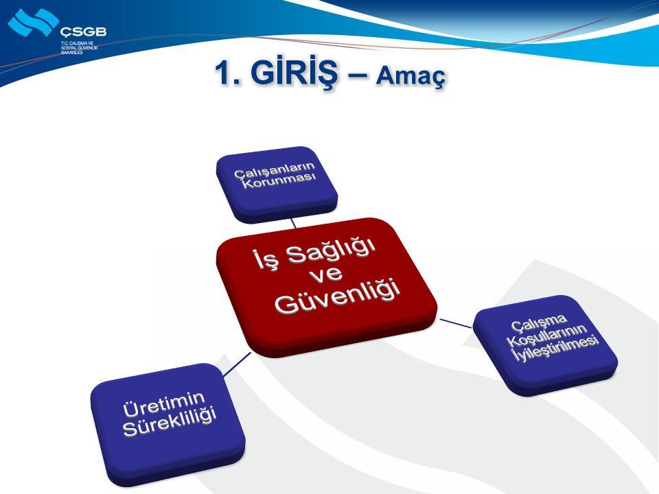 •Yayım 30 Haziran 2012 •Yürürlük 1 ocak 2013 •İSG Profesyonelleri (6,7,8.