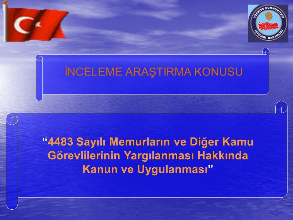 SUÇ VE CEZADA KANUNİLİK 5237 Sayılı TCK.