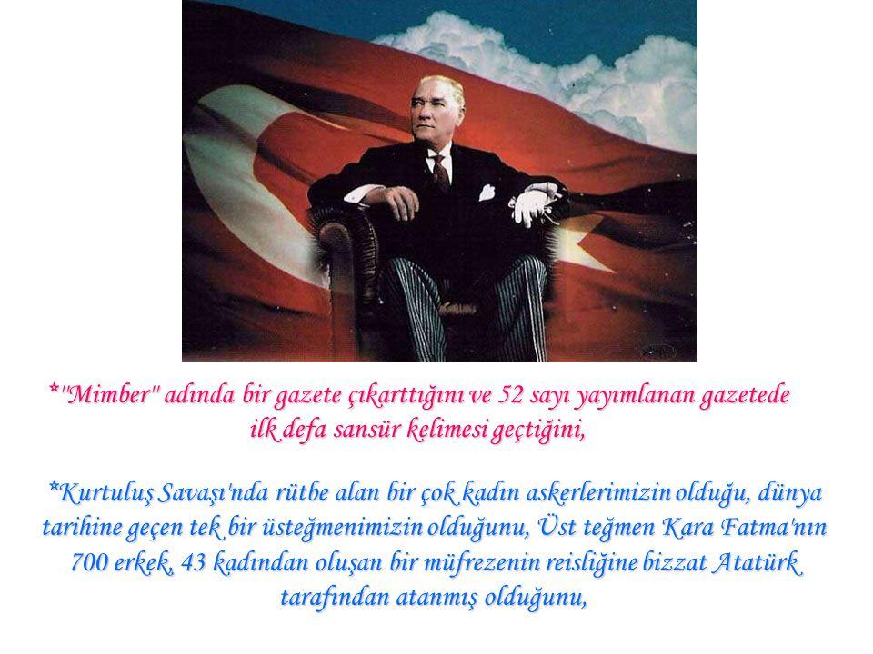 ''Atatürk'' çiçeği'nin adını, çiçeği bulan Wanderbit Üniversitesi profesörlerinden doktor Kirk Landın`in koyduğunu ve bu çiçeğin tüm dünyada bu isimle