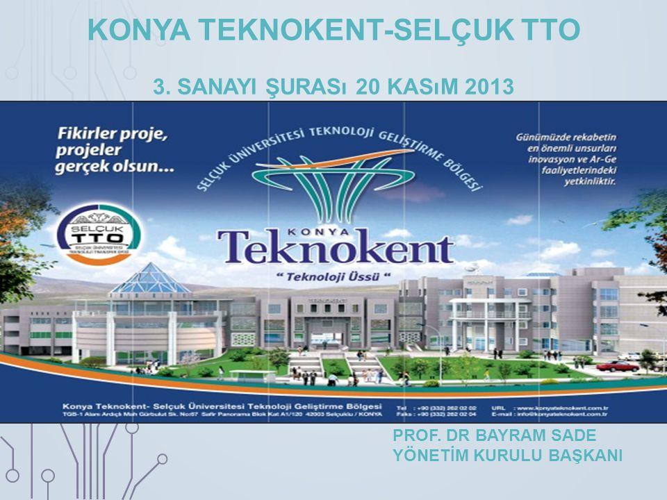 KONYA TEKNOKENT-SELÇUK TTO 3.SANAYI ŞURASı 20 KASıM 2013 PROF.