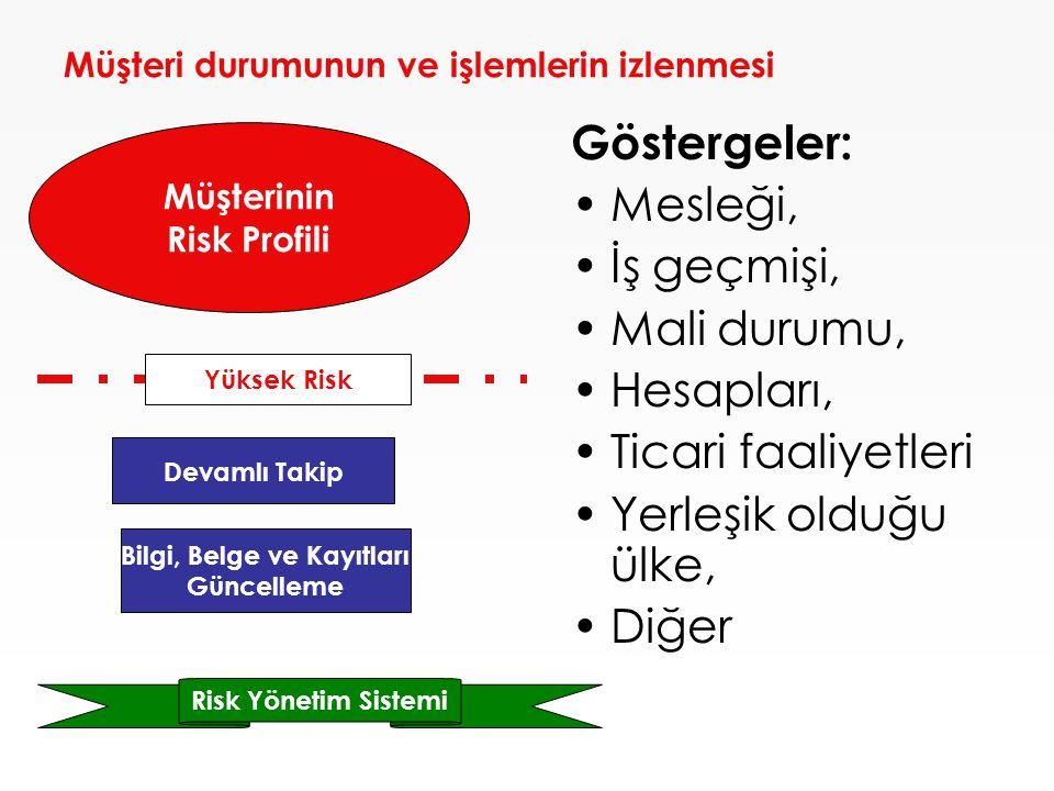 Risk Yönetimi ve İzleme-Kontrol Faaliyetleri, her bankanın kendi işletme büyüklüğüne göre belirleyeceği faaliyetlerdir.