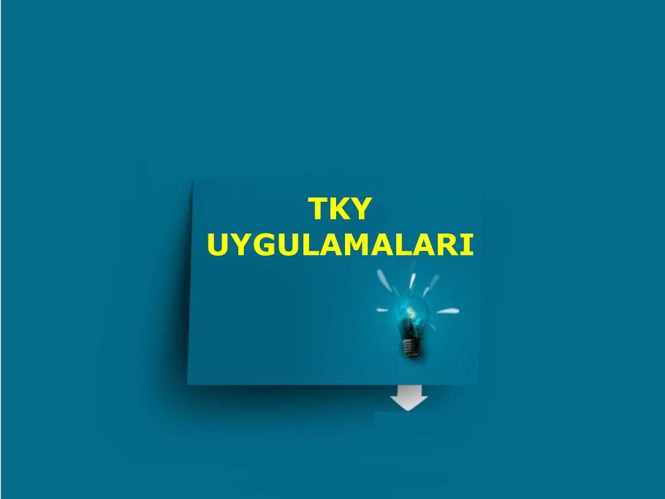 TKY UYGULAMALARI