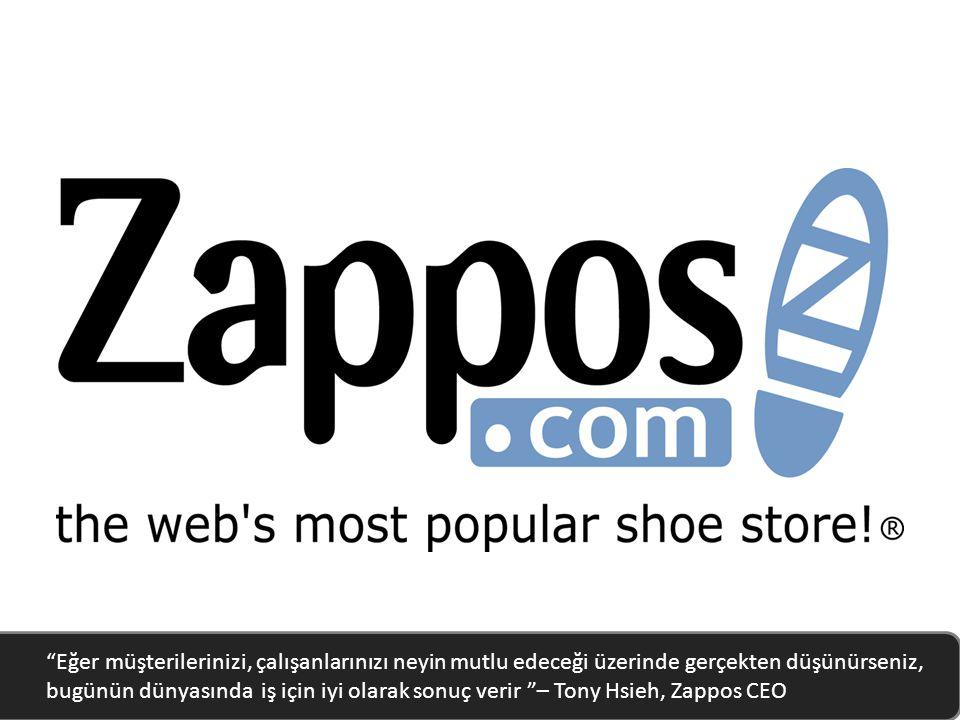 Eğer müşterilerinizi, çalışanlarınızı neyin mutlu edeceği üzerinde gerçekten düşünürseniz, bugünün dünyasında iş için iyi olarak sonuç verir – Tony Hsieh, Zappos CEO