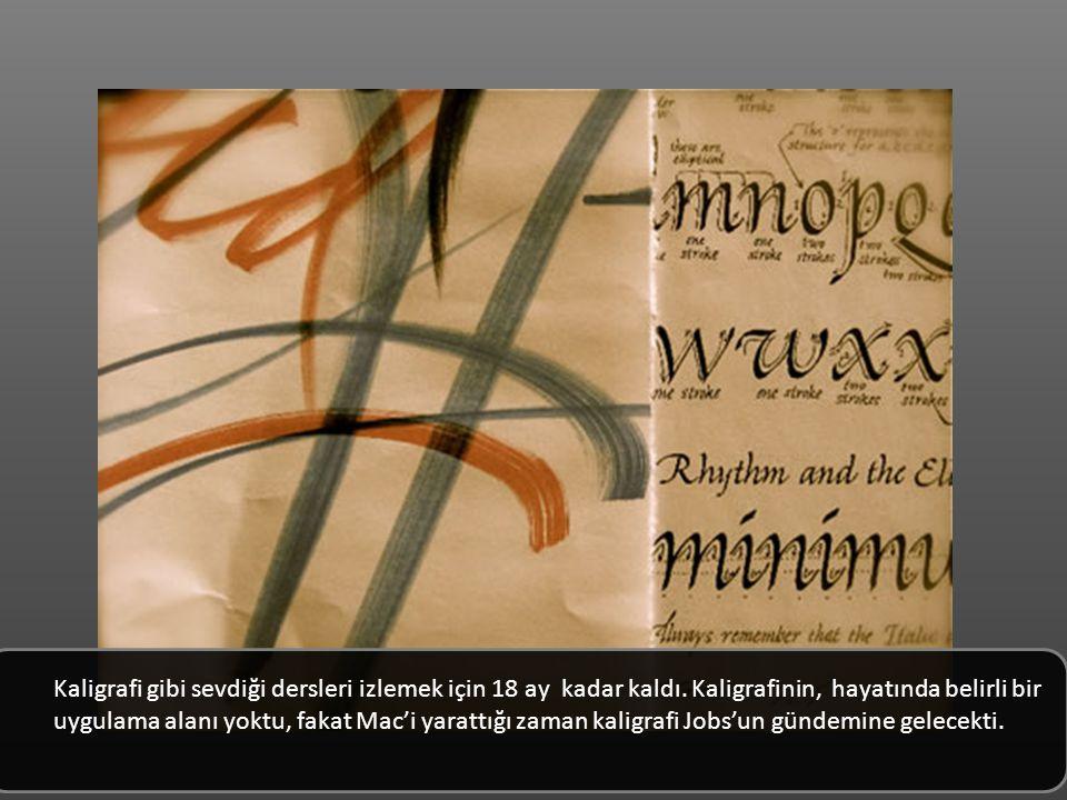 Kaligrafi gibi sevdiği dersleri izlemek için 18 ay kadar kaldı.