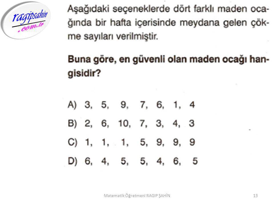 13Matematik Öğretmeni RAGIP ŞAHİN