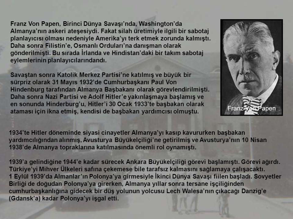 Atatürk Bulvarı, Çankaya'ya doğru sefaretler bulvarıdır. 1930'lu yıllarda Alman Sefareti'nde gamalı haçlı bayrak dalgalanırken, savaşla birlikte Bulga