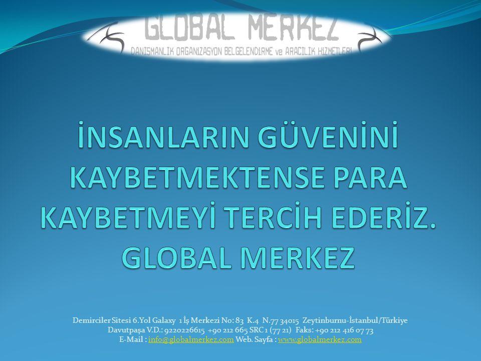 Demirciler Sitesi 6.Yol Galaxy 1 İş Merkezi No: 83 K.4 N.77 34015 Zeytinburnu-İstanbul/Türkiye Davutpaşa V.D.: 9220226615 +90 212 665 SRC 1 (77 21) Fa