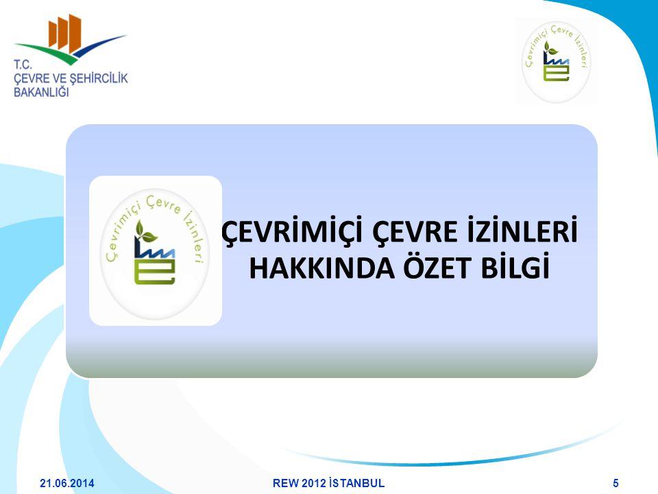 21.06.201436REW 2012 İSTANBUL