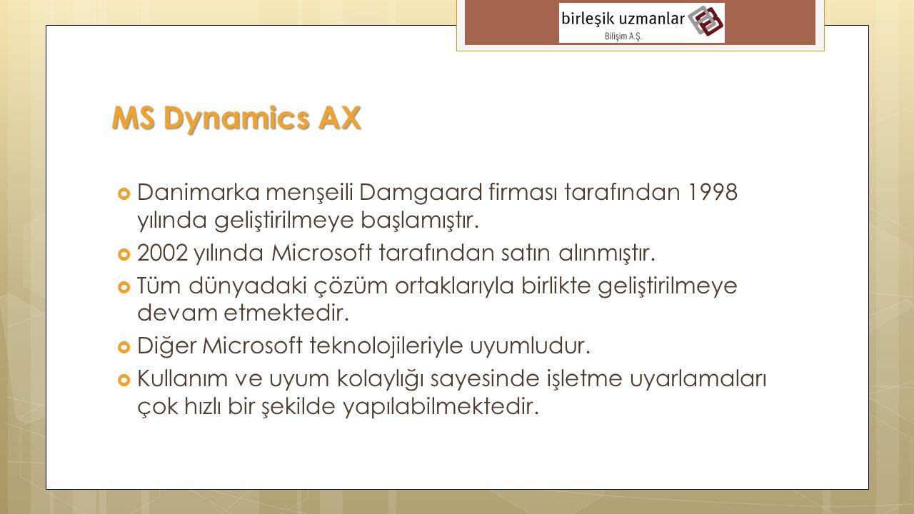  1992 yılında kuruldu. 2003 yılında Microsoft Dynamics Sertifikalı Çözüm Ortağı oldu.