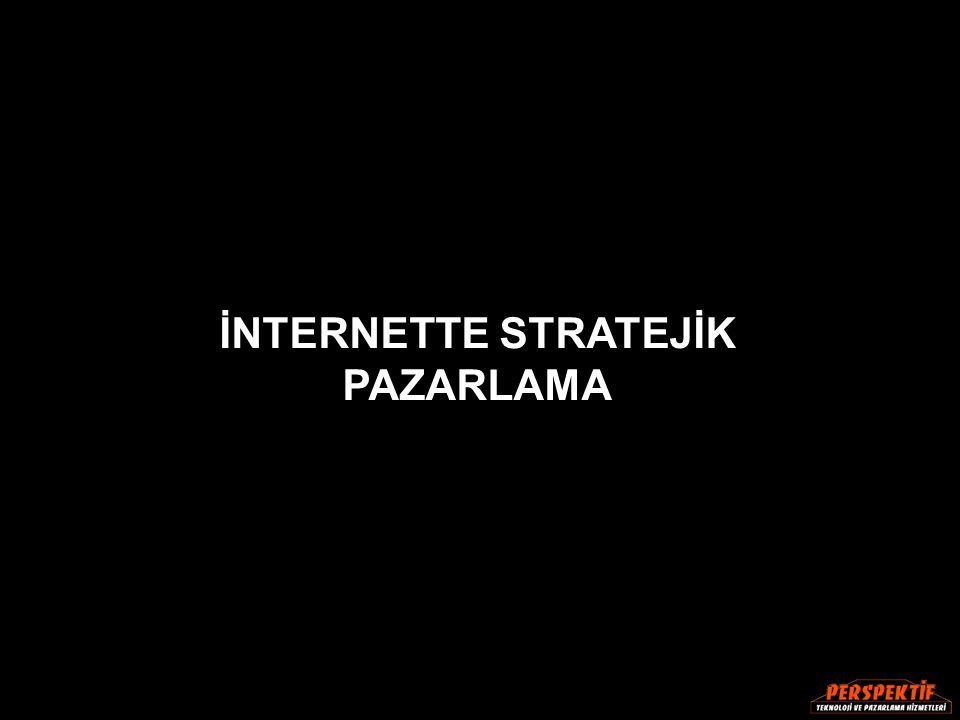 İNTERNETTE STRATEJİK PAZARLAMA