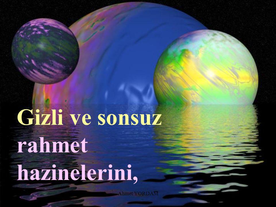 Ahmet YORDAM...Sanatının harikalarını;