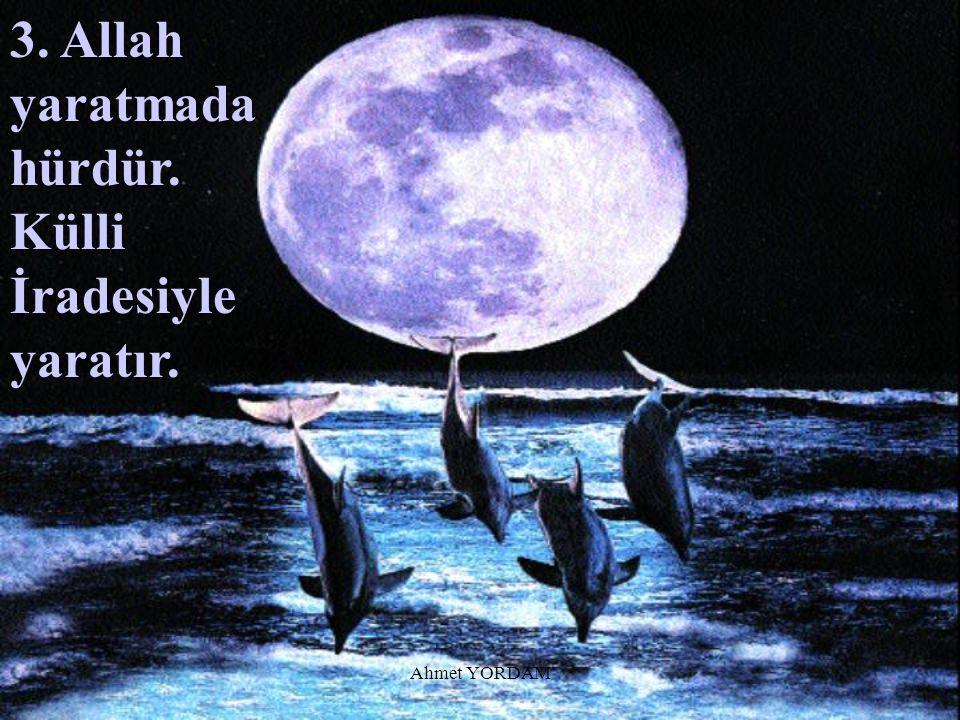 """...Allah'ın kainata koyduğu kanunlara """"Adetullah"""" veya """"Sünnetullah"""" denir."""