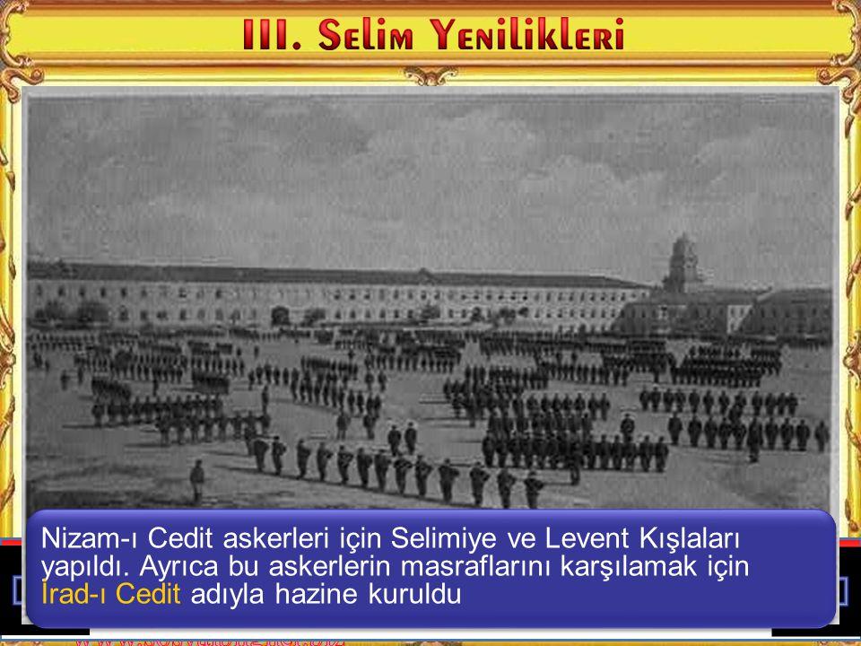 Çocuklar ben Osmanlı devletindeki yenilikçi padişahlardan III.
