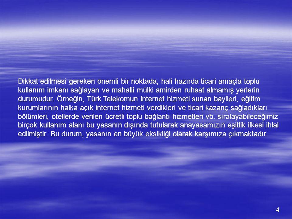 15 TieV TümİnternetEvleriDerneği Şubat - 2007