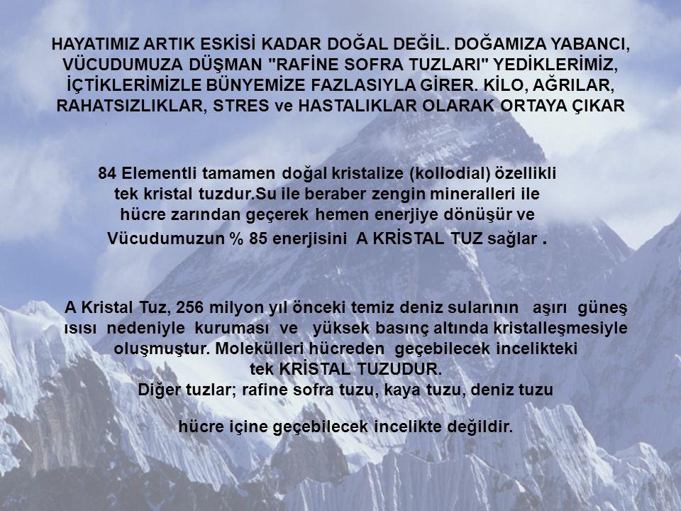 PEKİ BİZLER BU ÖNEMLİ MADDEYİ YETERİNCE KULLANIYOR MUYUZ HAYIR!