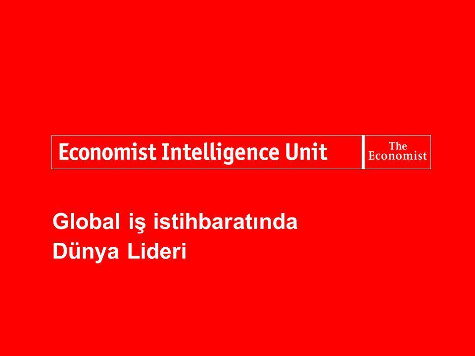 Global iş istihbaratında Dünya Lideri
