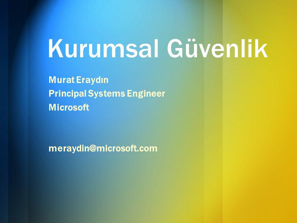 Microsoft'un Bakış Açısı ve Teknolojileri