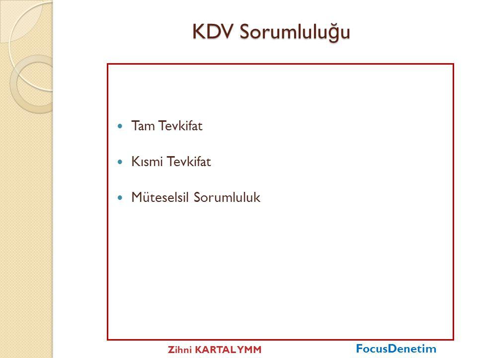 """KDV Tevkifatı """"KDV'de tevkifat"""" Vergiye tabi olan bir işleme ilişkin KDV'nin mükellefi olan satıcıya ödenmeksizin alıcı tarafından tamamen veya kısmen"""