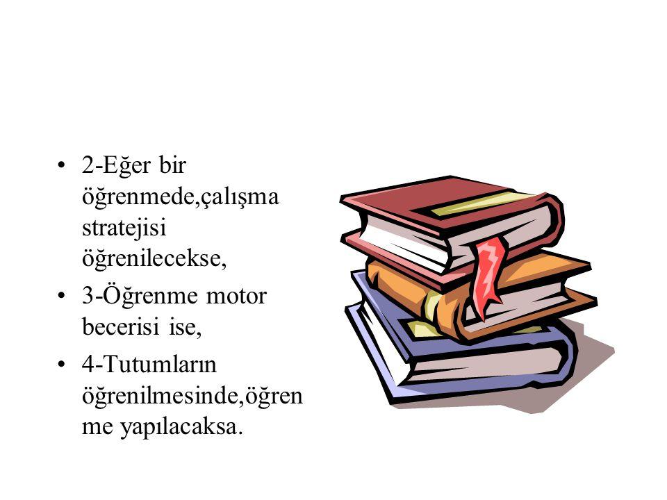 •G-Geliştirme Bölümü (uyarıcıları sunma) •Kazandırılacak davranışların öğrencilere mal edilmesi için her türlü etkinliği kapsar. •1-Kavram ya da öğret