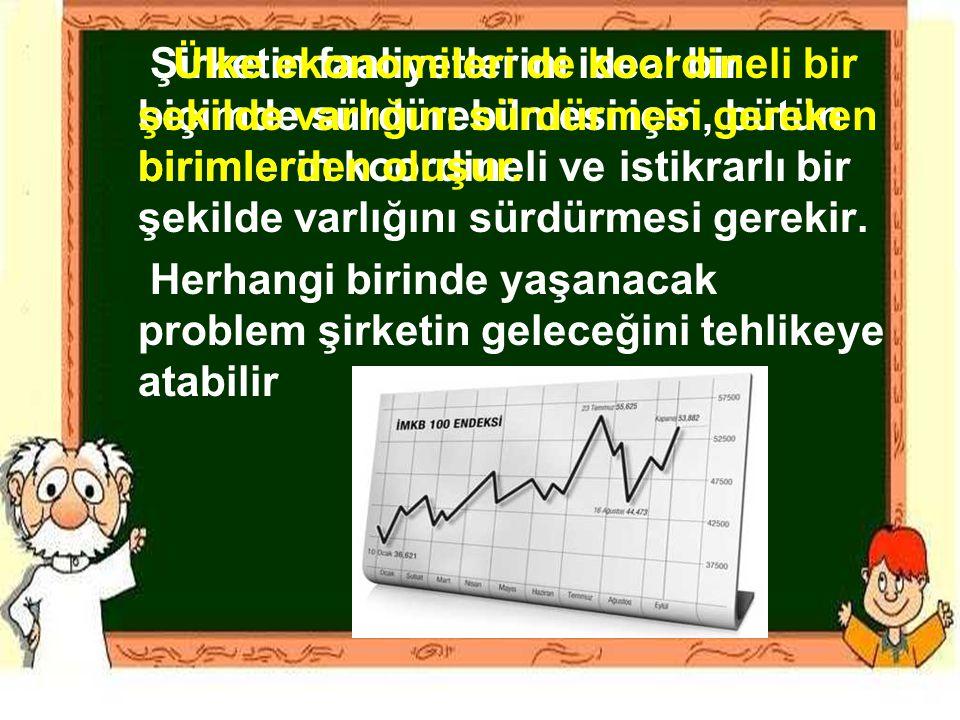 Çalışanların Sektörel Dağılımı Türkiye'de 23 milyon çalışan vardır.