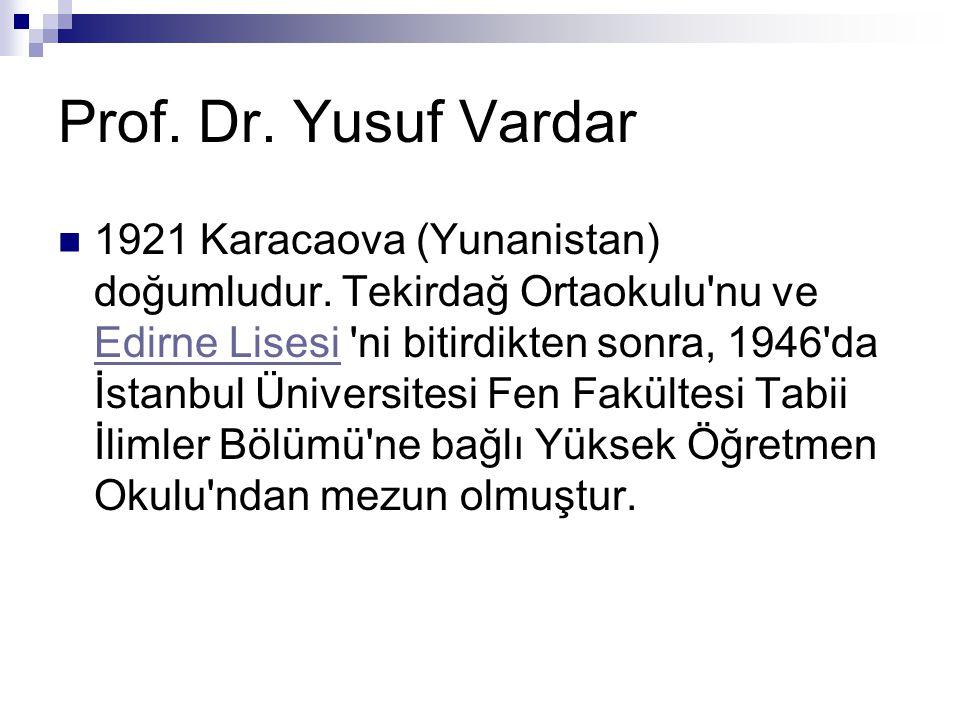 1921 Karacaova (Yunanistan) doğumludur.