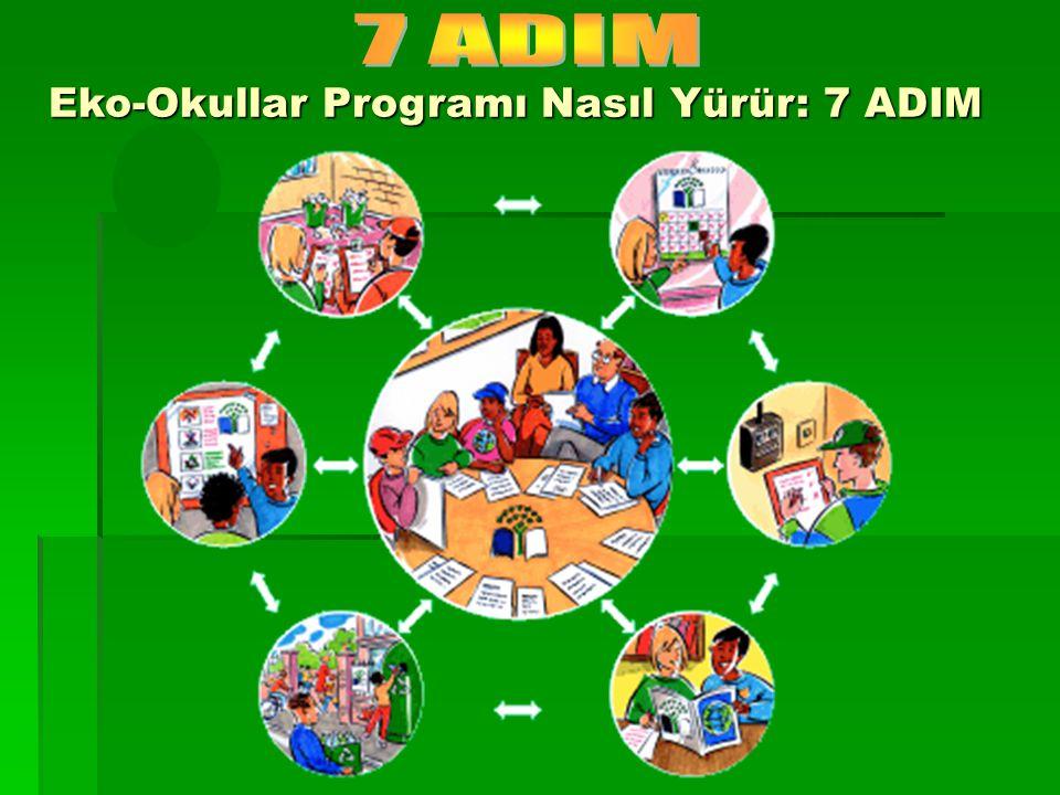 Eko-Okullar Programı Nasıl Yürür: 7 ADIM Eko-Okullar Programı Nasıl Yürür: 7 ADIM