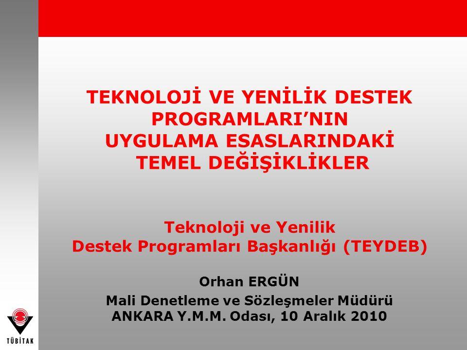 22 Desteklenen proje kapsamında yapılan fikri ve sınai mülkiyet haklarının korunmasına yönelik Türk Patent Enstitüsü (TPE) tescil giderleri desteklenmeyecektir.