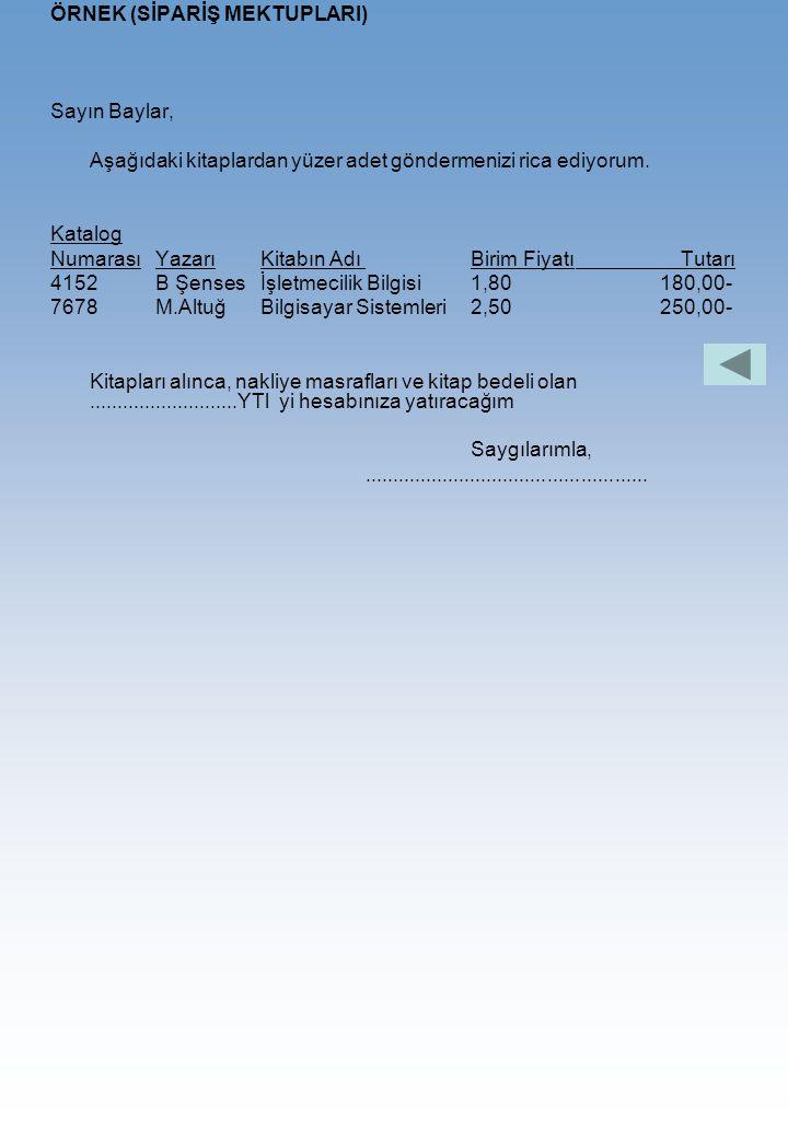 ÖRNEK:(SİRKÜLER)............................................ Sayın Baylar, Antalya, tarım ilaçları Büromuzun telefon adresinin 2535532 olarak değiştiğ