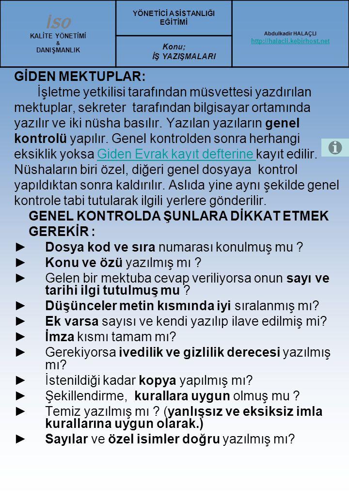 Türk Blok Mektup Örneği : 7 Sayı: 231.7/789 Ankara, 17 Haziran 2000 2 Konu: Türk Blok Mektup Şekli 3-15 Sayın Fatma Tarakçı Ticaret Lisesi Büro Hizmetleri Dersi Öğretmeni Antalya 3 Sayın Tarakçı, 2 Türk blok ve Ortalama mektuplarının şekil ve düzeni Türk Standartları Enstitüsü nce düzenlenerek 1975 yılında yayımlandı.