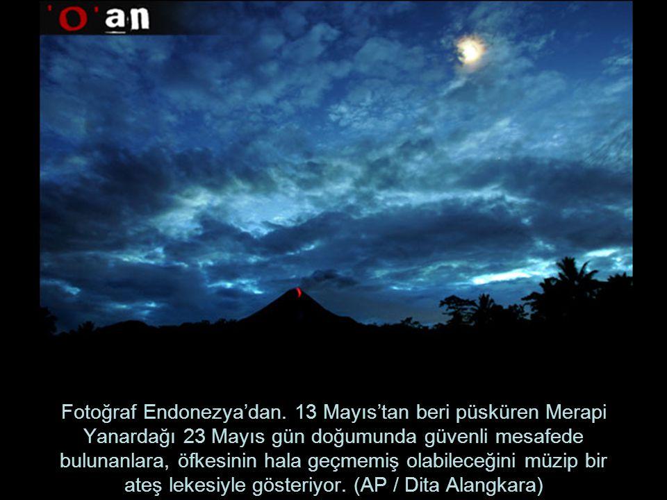 Fotoğraf Endonezya'dan.