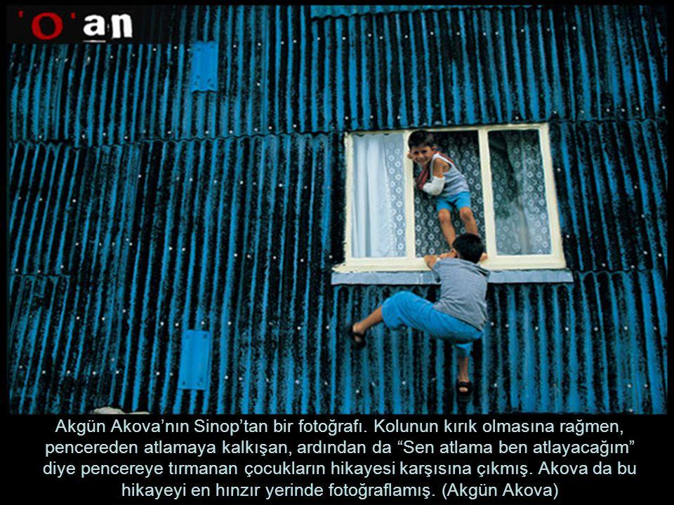 Akgün Akova'nın Sinop'tan bir fotoğrafı.