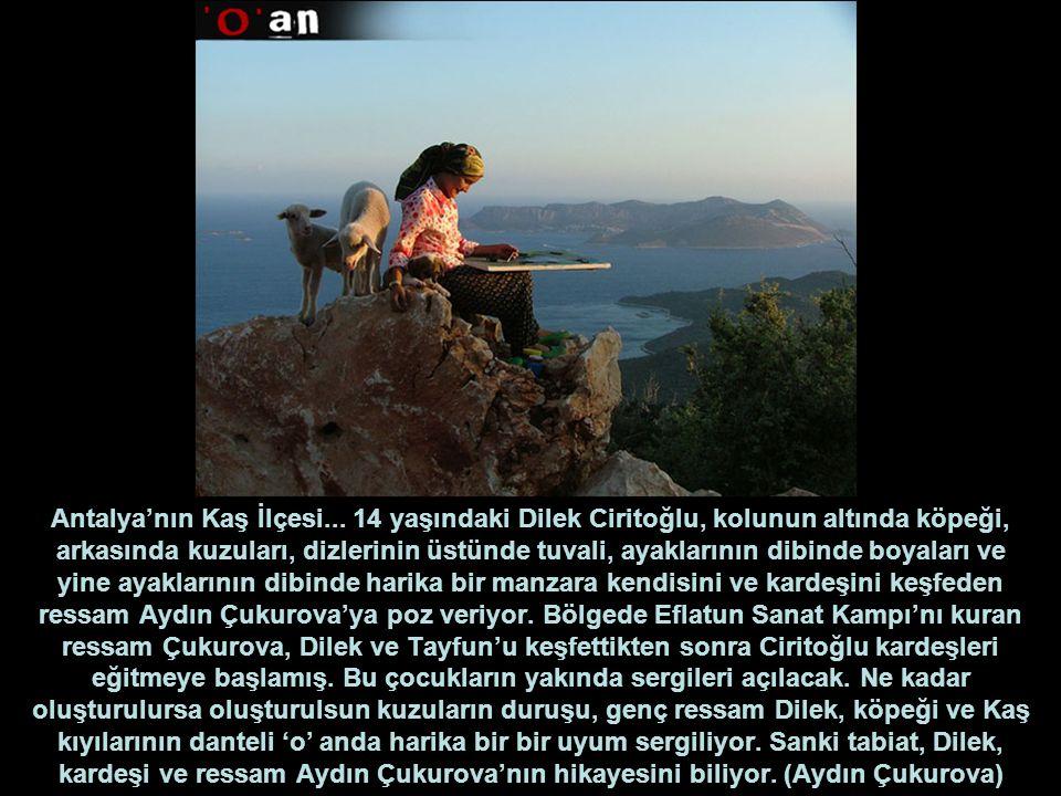 Antalya'nın Kaş İlçesi...