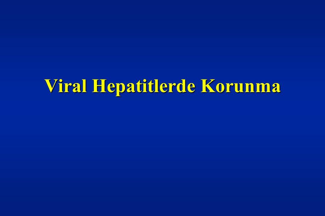 Hepatit E' de korunma ve kontrol önlemleri: • Fekal-oral yol ile bulaşması sebebi ile kişisel hijyen kurallarına uyulmalıdır.