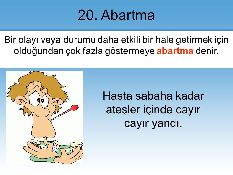 20.Abartma.