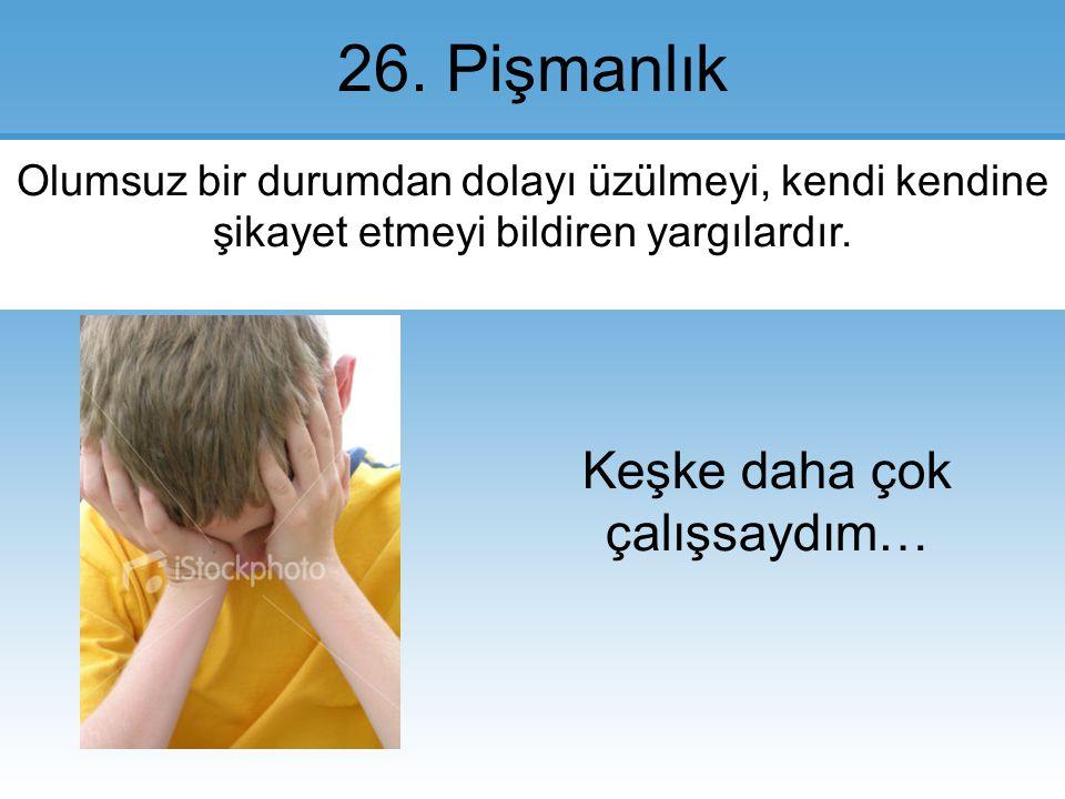 26.Pişmanlık.