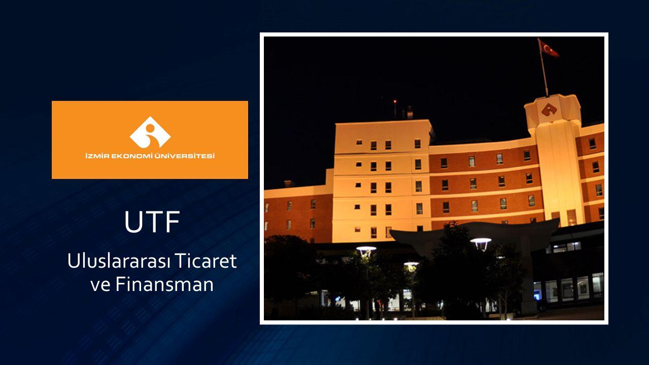 UTF Uluslararası Ticaret ve Finansman