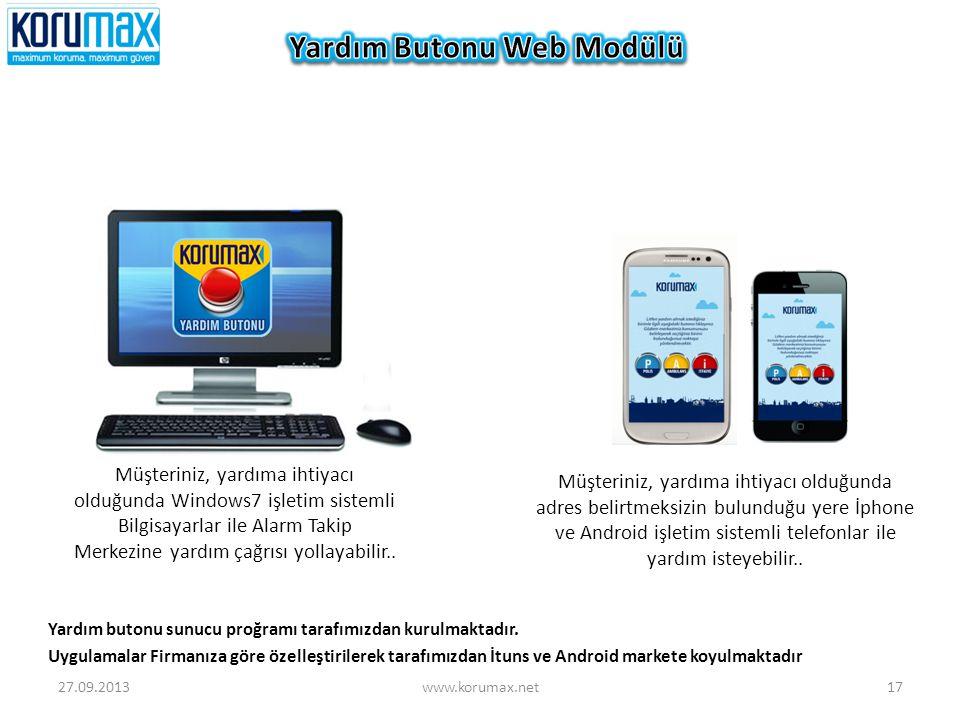 Müşteriniz, yardıma ihtiyacı olduğunda adres belirtmeksizin bulunduğu yere İphone ve Android işletim sistemli telefonlar ile yardım isteyebilir.. Müşt
