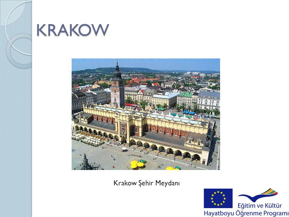 KRAKOW Krakow Şehir Meydanı