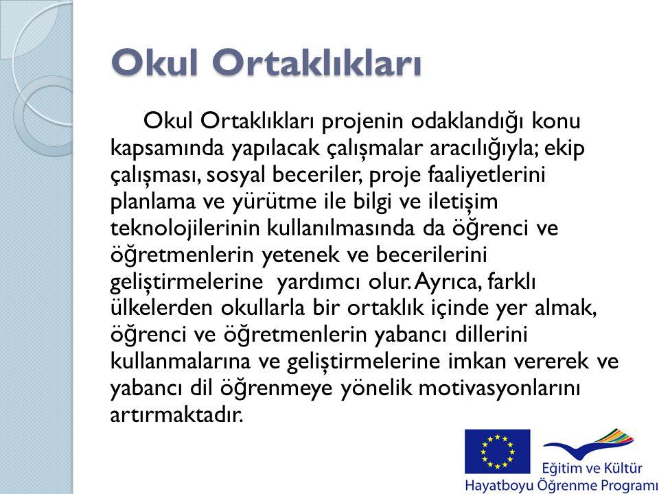 ARALIK 2011  Ö ğ renciler paylaştıkları foto ğ raflarla Türkiye ve Polonya'nın tarihi ve turistik yerleriyle ilgili duvar panoları ve takvimi oluştururlar.