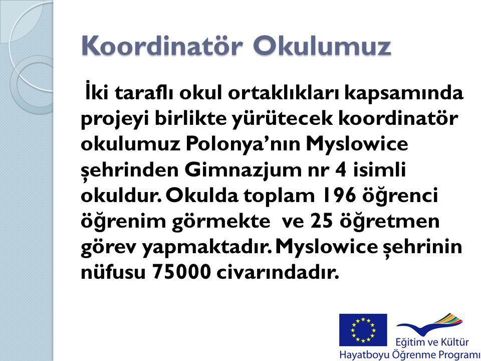 Proje özeti Projemiz Türkiye ve Polonya gibi iki farklı kültür mensupları arasında yapılan iki taraflı okul projesidir.