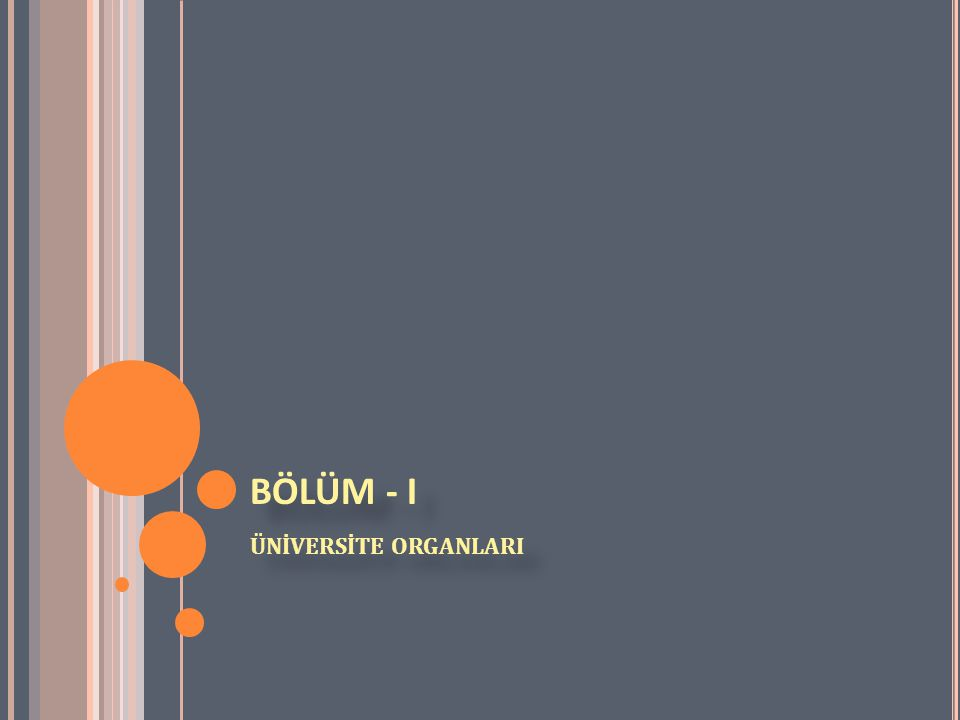 2547 SAYILI YÜKSEKÖĞRETİM KANUNU BÖLÜM - I ÜNİVERSİTE ORGANLARI Rektör: Madde 13 a) (Değişik:17/8/1983 - 2880/7 md.) (Değişik birinci paragraf: 18/6/2008-5772/2 md.) Devlet üniversitelerinde rektör, profesör akademik unvanına sahip kişiler arasından görevdeki rektörün çağrısı ile toplanacak üniversite öğretim üyeleri tarafından seçilecek adaylar arasından Cumhurbaşkanınca atanır.