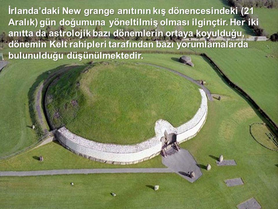Stonehenge, MÖ 3000'lerden kalma taş anıtlar olarak dikkat çeker. Bir çember etrafına özenle yerleştirildiği belli olan anıt taşlardan birçoğu halen a