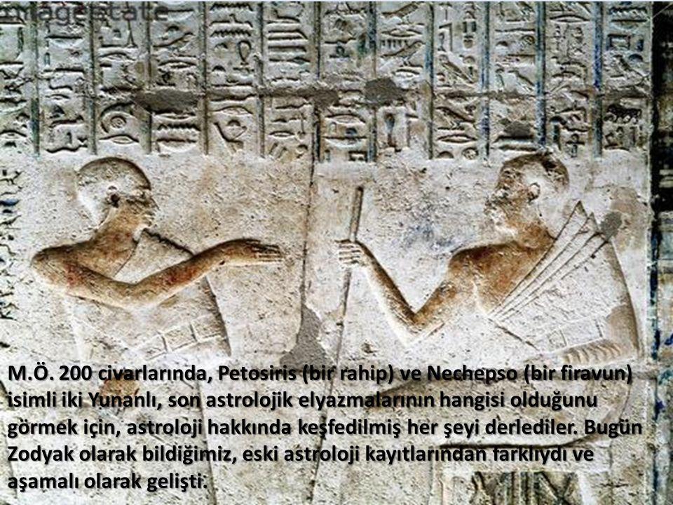 MÖ 280 İlk Astroloji Okulu Babilli (Kaldeli) rahip Berossus tarafından Kos adasında kurulmuştur. Astrolojinin batıya yayılmasında önemli bir basamak o