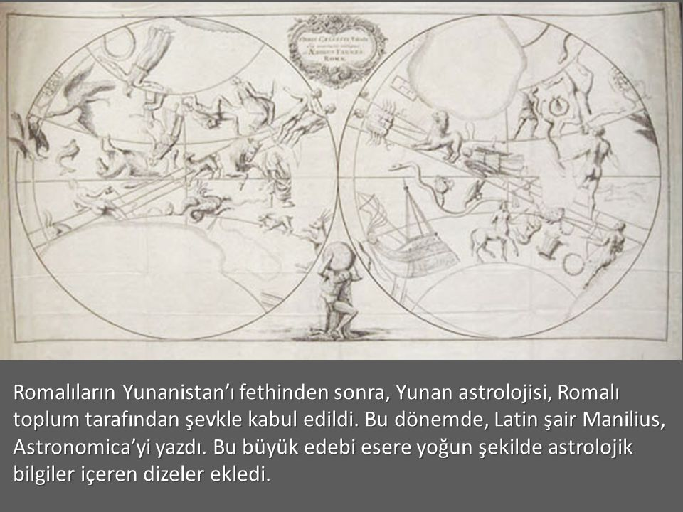 Batı'da Astroloji Batlamyus MS 85-165, daha önce Babil ve Yunan astronomları ve astrologları tarafından derlenmiş bilgi birikiminden yararlanarak astr