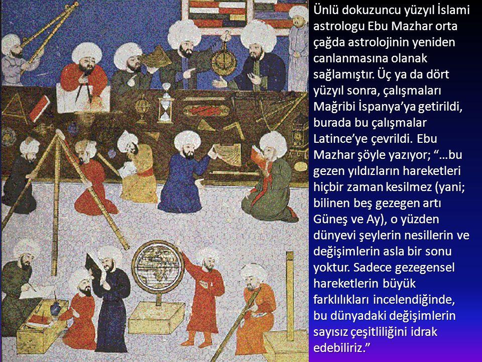 Ortaçağda Araplar göklerle ilgili çalışmalarda oldukça ilgiliydiler. Çöl bölgelerinin sakinleri genellikle geceleri seyahat eder ve gök cisimlerini il