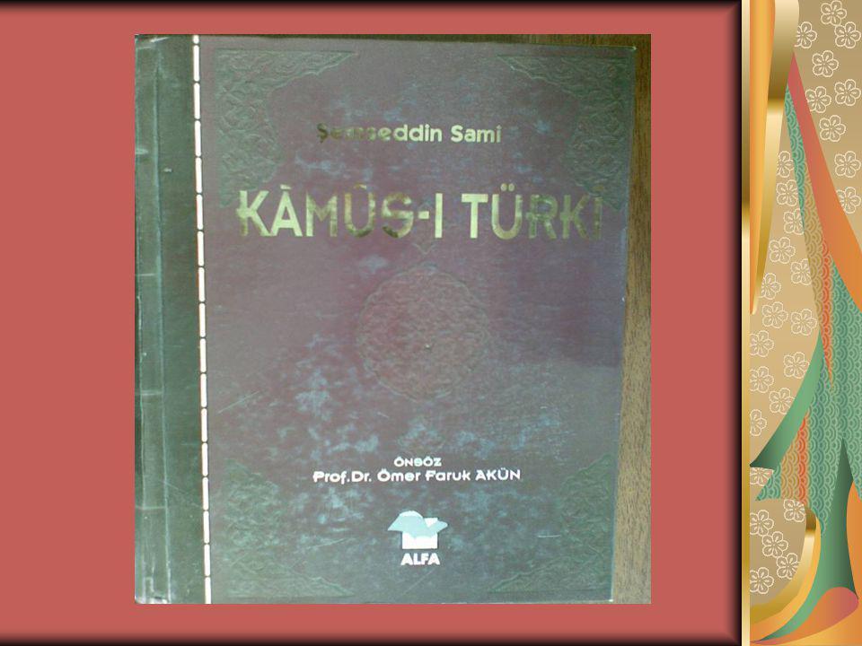 Kaynakça Şemseddin Sami hakkında en derli toplu makale, Prof.