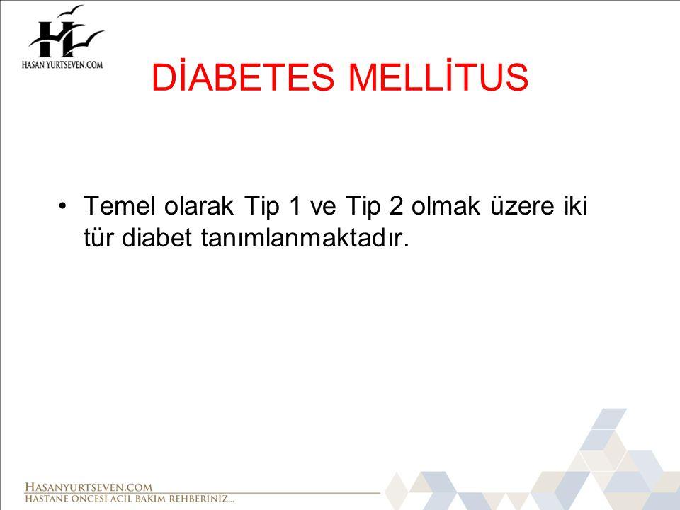 • Diabetik Ketoasidoz Komasında hastanın damar yolu açılarak kan şekeri ölçümü yapılmalı ve protokole uygun olarak 300 mg/dl ve üzerindeyse IV olarak SF uygulamasına başlanır.