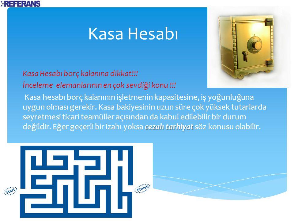 Adatlandırma=Kasa Hesabı Bakiyesi> Kasa Fiili Tutarı faiz geliri Kasa bakiyesinde görünüp de kasada fiili olarak yer almayan tutarların ortaklar tarafından kullanıldığı kabul edilmekte ve bu kasa bakiyesi için adatlandırma yapılarak faiz hesaplanmaktadır.