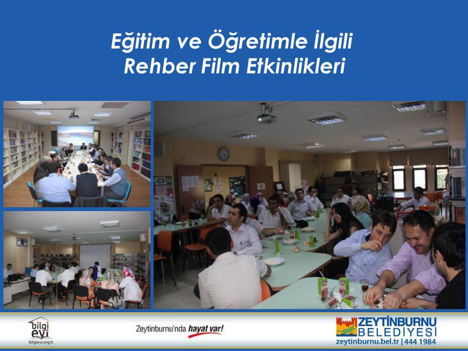 Eğitim ve Öğretimle İlgili Rehber Film Etkinlikleri