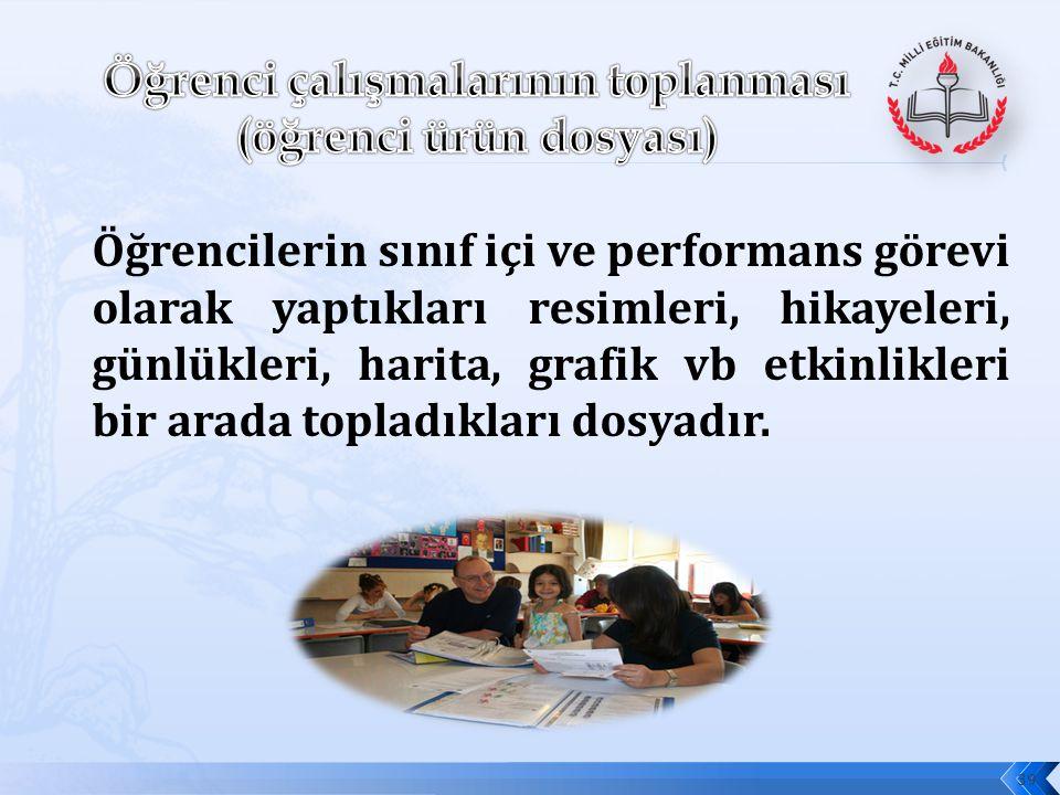 c)Bu araçların, her etkinlik sonunda kullanılması zorunlu değildir. Öğretmen gerekli gördüğü etkinliklerden sonra ve ünite / tema sonlarında kullanır.